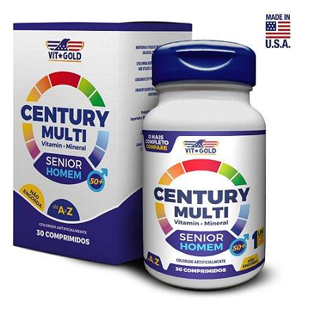 Multivitaminico Century Multi Senior Homem 30 comprimidos