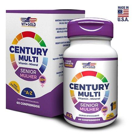 Multivitaminico Century Multi Senior Mulher 60 comprimidos