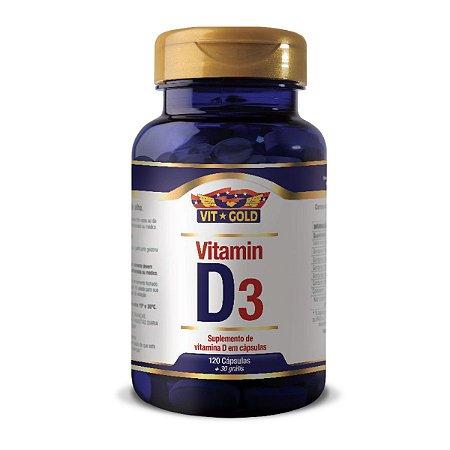 Vitamina D3 Vitgold 120 cápsulas
