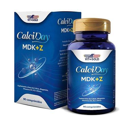 Calciday MDK+Z Vitgold 90 comprimidos