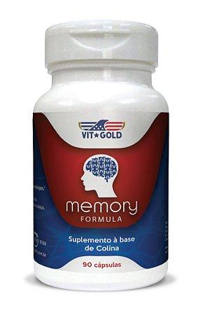 Memory Formula (suplemento Para Memória) Vitgold 90 Cápsulas
