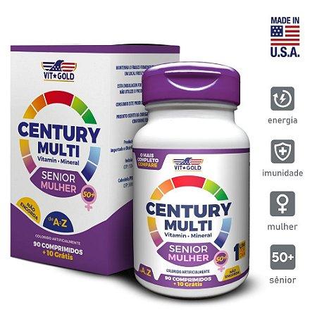 Multivitaminico Century Multi Senior Mulher 90 comprimidos  + 10