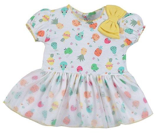 Vestido com Calcinha Frutinhas - Upi Uli
