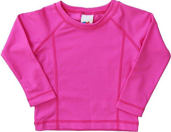 Camiseta Praia Manga Longa Pink - Tip Top