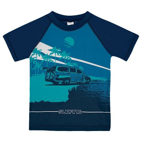 Camiseta Praia Manga Curta - Tip Top