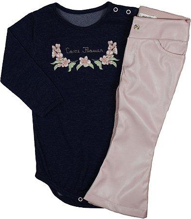 Conjunto Body e Calça Diversos Modelos - Matinée Baby