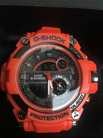 Relógio G Shock GA110 Vermelho Masculino Com Caixinha