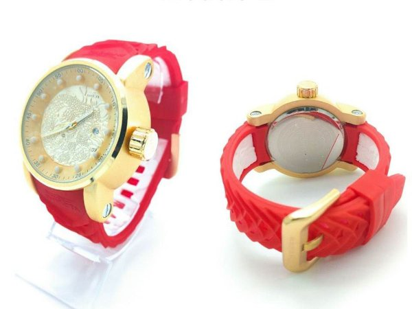 Relógio Invicta Yakuza Dragon Vermelho Unissex Promoção