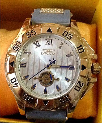 Replica de Relógios Invicta Importado Com Pulseira de Borracha