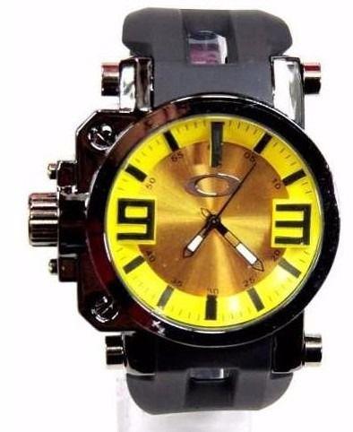 Réplica de Relógio Oakley Gearbox Amarelo Frete Grátis