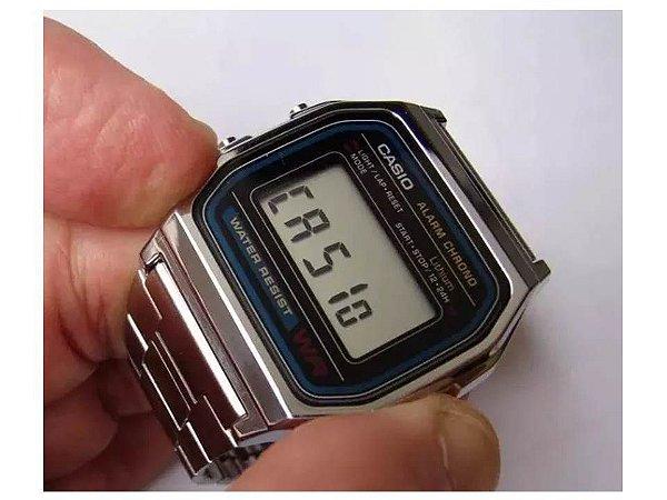 a98b128ab40 Relógios Casio Retro Quadrado Baratos Atacado Para Revenda ...