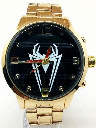 Relógio Masculino Dourado Fundo Dourado Atacado Para Revenda