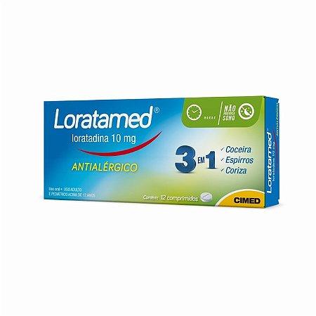 LORATADINA (LORATAMED) 10MG 12CPR