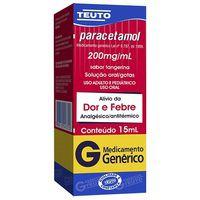 Paracetamol 200Mg Gotas 15mL