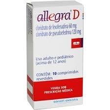 ALLEGRA 120MG 10CPR
