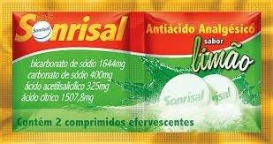 SONRISAL LIMAO 2CPR EFERVESCENTES