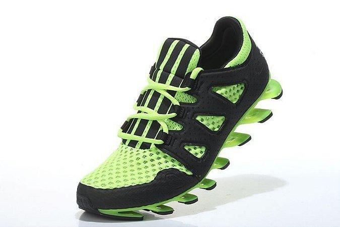 adidas springblade verde com preto