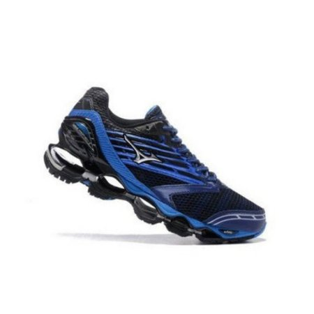 Mizuno Wave Prophecy 5 - Azul Azul Escuro - Tênis Web - Cuidando bem ... 63239dc4e8d0f