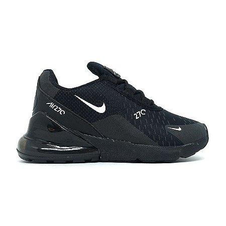 6628ba451a3 Tênis Nike Air Max 270 - Todo Preto - Tênis Web - Cuidando bem dos ...