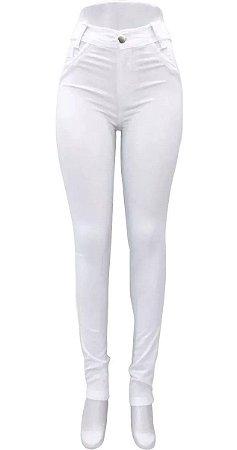 Kit 2 Calças Jeans Feminina Enfermagem Branca