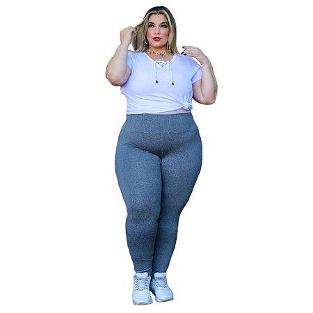 Calça Feminina Legging Suplex Plus Size