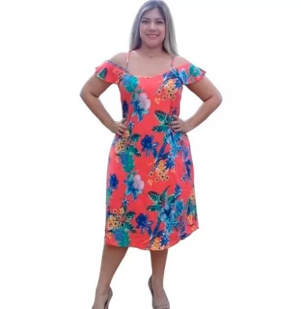 Kit com 5 Vestidos Plusize - Revenda