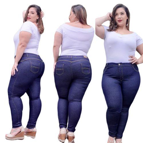 Calça jeans Plusize Zam Zam Jeans