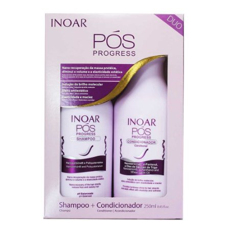 INOAR – Kit  Pós Progressiva 2 x 250 ML