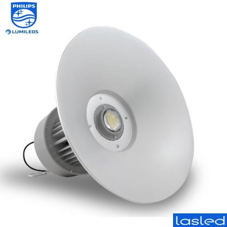 Luminária LED SMD Industrial 100 Watts - LED Chip Philips