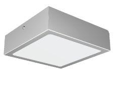 Luminária LED Netuno Sobrepor/Embutir 12 Watts