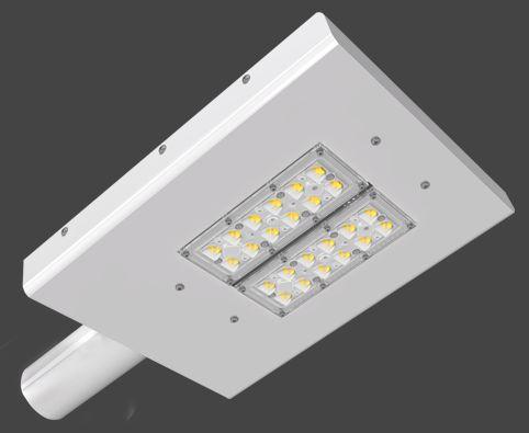 Luminária LED Pública Slim Modular 113 Watts