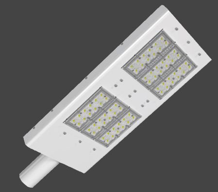 Luminária LED Pública Slim Modular 250 Watts