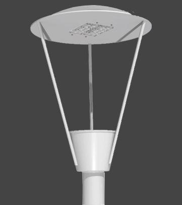 Luminária LED Pública Decorativa 85 Watts