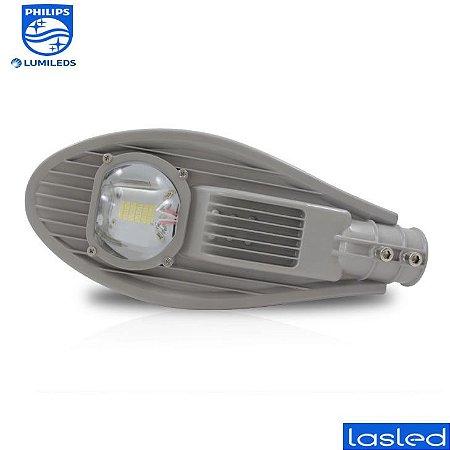 Luminária LED Pública Mini Street Pétala 50 Watts - LED Chip Philips Lumileds