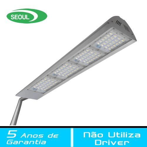 Luminária LED Pública Modular 180 Watts - FIT LIGHT