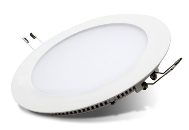 Embutido Downlight LED Slim Redondo 18 Watts (Caixa com 50 unidades)