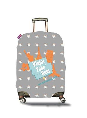 Capa para Mala | Viajar e tudo de bom