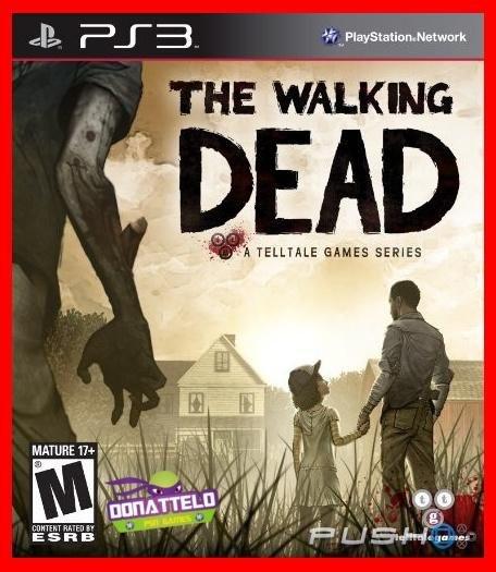 The Walking Dead Season 1 ps3 - A Telltale Games Series