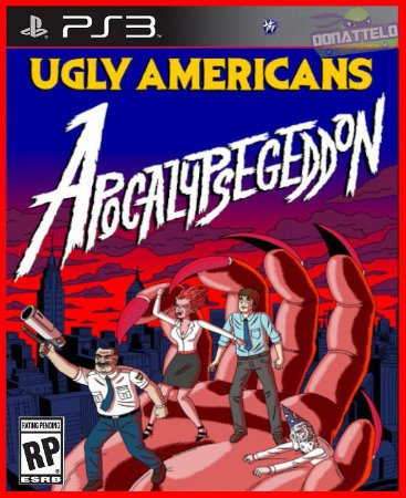 Ugly Americans Apocalypsegeddon PS3
