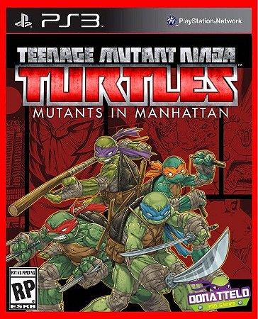 Tartarugas Ninja - Ninja Turtles Mutants In Manhattan ps3