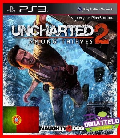 Uncharted 2 Among Thieves ps3 - Legenda em Portugues