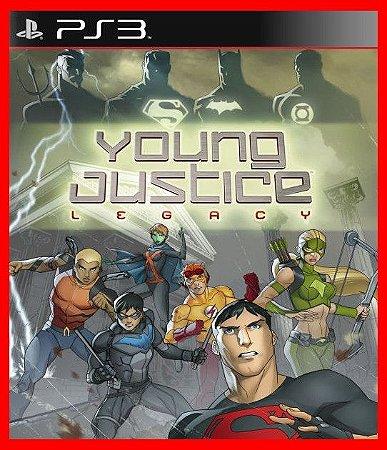 Young Justice Legacy ps3 - Liga da Justiça Jovem