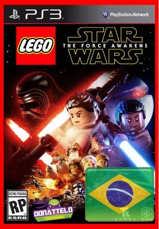 Lego Star Wars The Force Awakens - O despertar da força