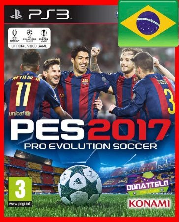 PES 17 - Pro Evolution Socccer 2017 ps3