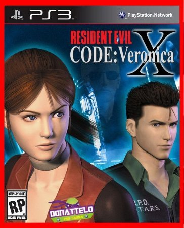 Resident Evil Code Veronica X HD ps3