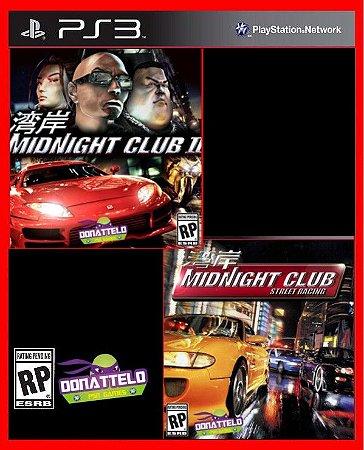 Midnight Club 1 e 2 ps3