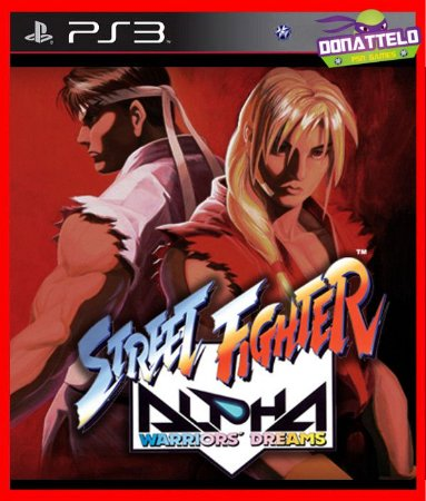 Street Fighter Alpha 1 ps3