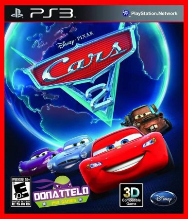 Carros 2 - Cars 2 The Video Game ps3 - McQueen