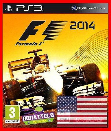 F1 2014 - Formula 1 2014 Americano - PS3