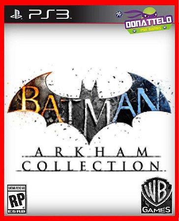 Coleção Batman Arkham  ps3 - Três jogos: Origins, City e Asylum
